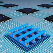 多阵列忆阻器存算一体系统