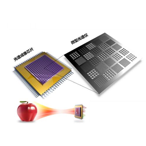 快照式光谱成像芯片