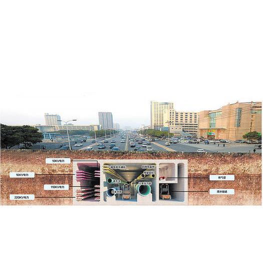 智慧城市管廊检测项目