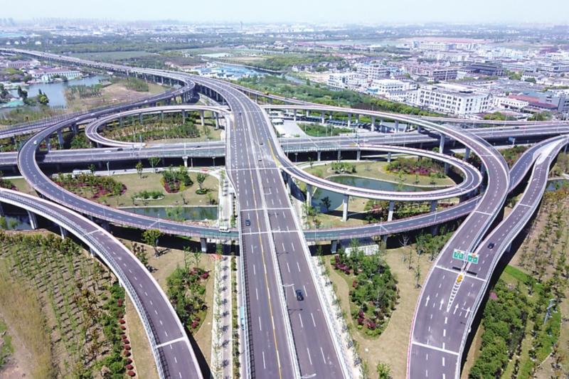 苏州中环快速路路面设计、施工与检测