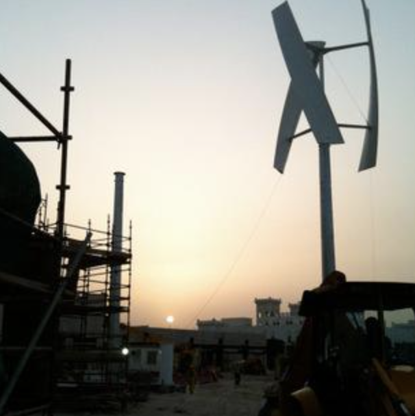 屋顶风力发电装置