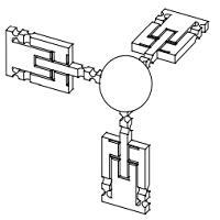 一种基于柔顺机构的 3 维微力传感器的敏感元件
