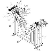 一种智能化铝合金螺旋焊管定尺跟踪锯
