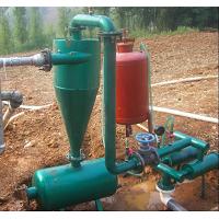 大田滴灌用水力旋喷自动吸附网式过滤器
