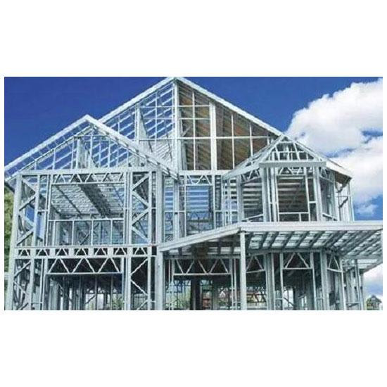 基于减震耗能的高强全装配式钢结构住宅体系