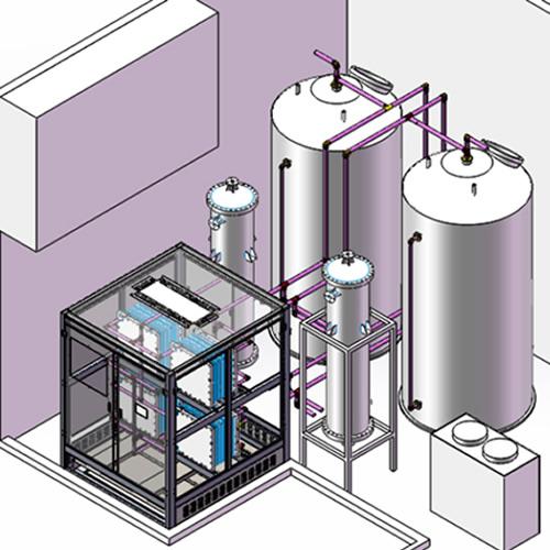 高性能液流电池双极板及系统集成技术