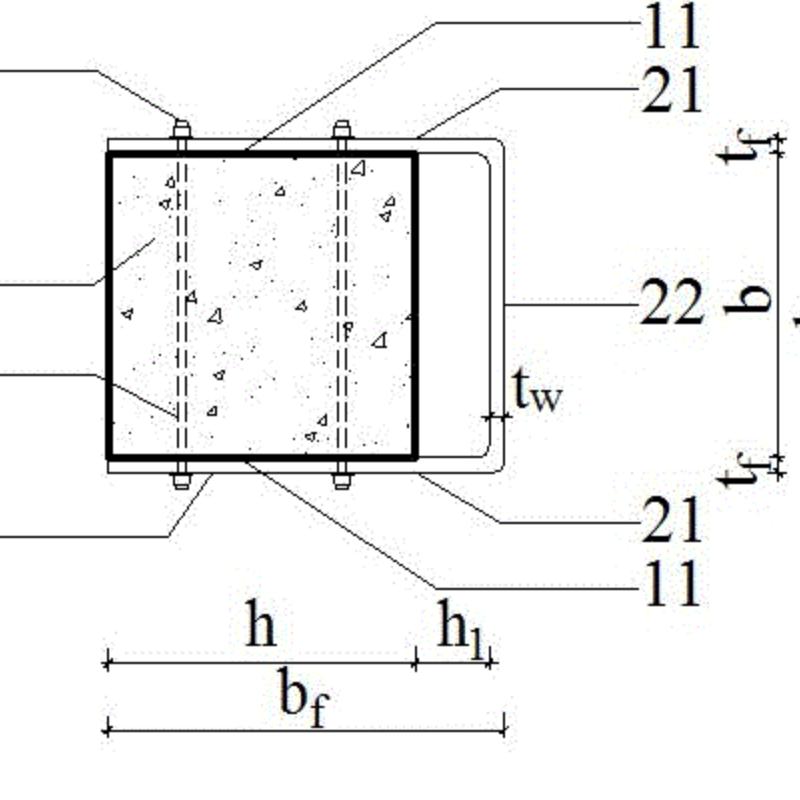 一种快速加固钢筋混凝土偏压柱的方法