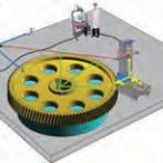 特大型齿轮激光跟踪在位测量系统