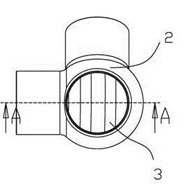 一种带气液分离的制冷剂分流装置