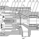 一种平衡式大流量轴向柱塞泵
