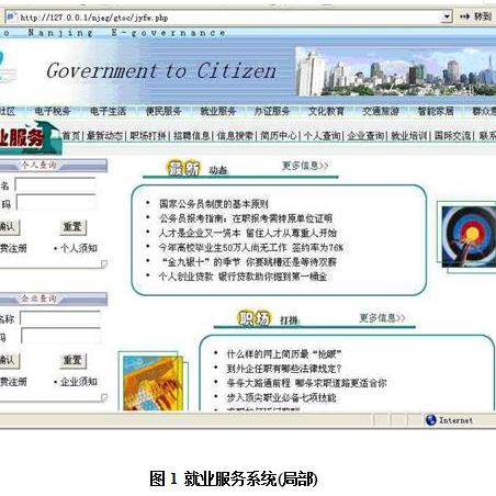 电子政务系统设计与开发