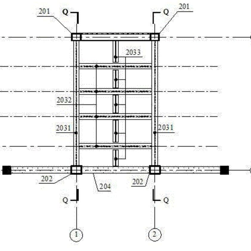 一种利用组合结构实现承重墙托换方法