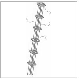 一种用于超高层建筑风洞实验的多自由度气弹模型骨架