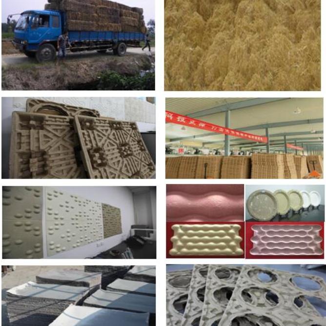 秸秆的高值化全价利用及工业包装产品开发