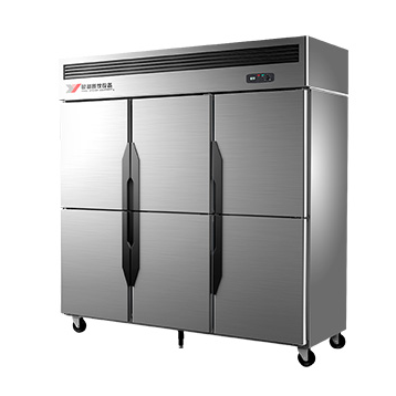 六门双温冰箱-横隔