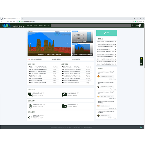 WRITE-BUG技术共享平台