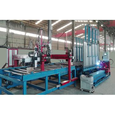 集装箱自动焊接及物流车箱门板焊接生产线