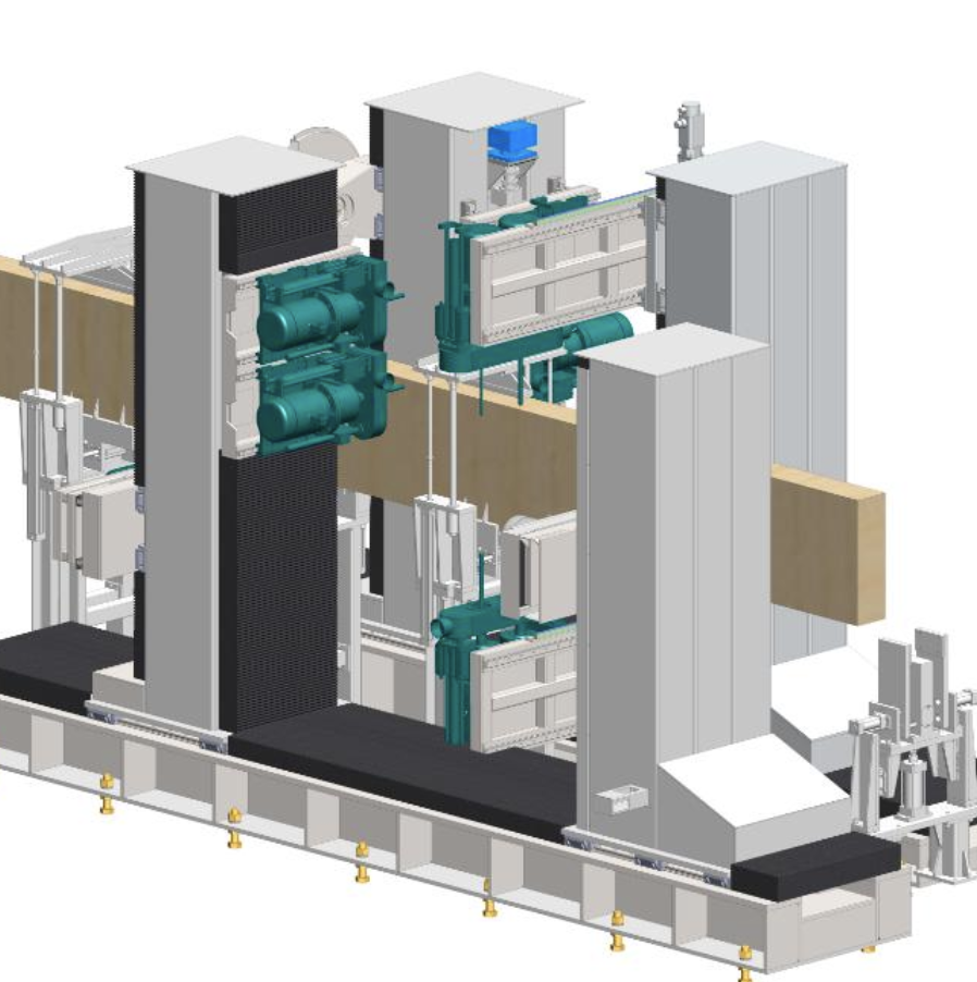 SDMJ01型自动化木屋生产线