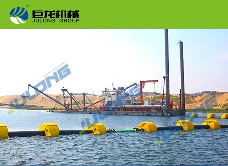 巨龙12寸绞吸式挖泥船
