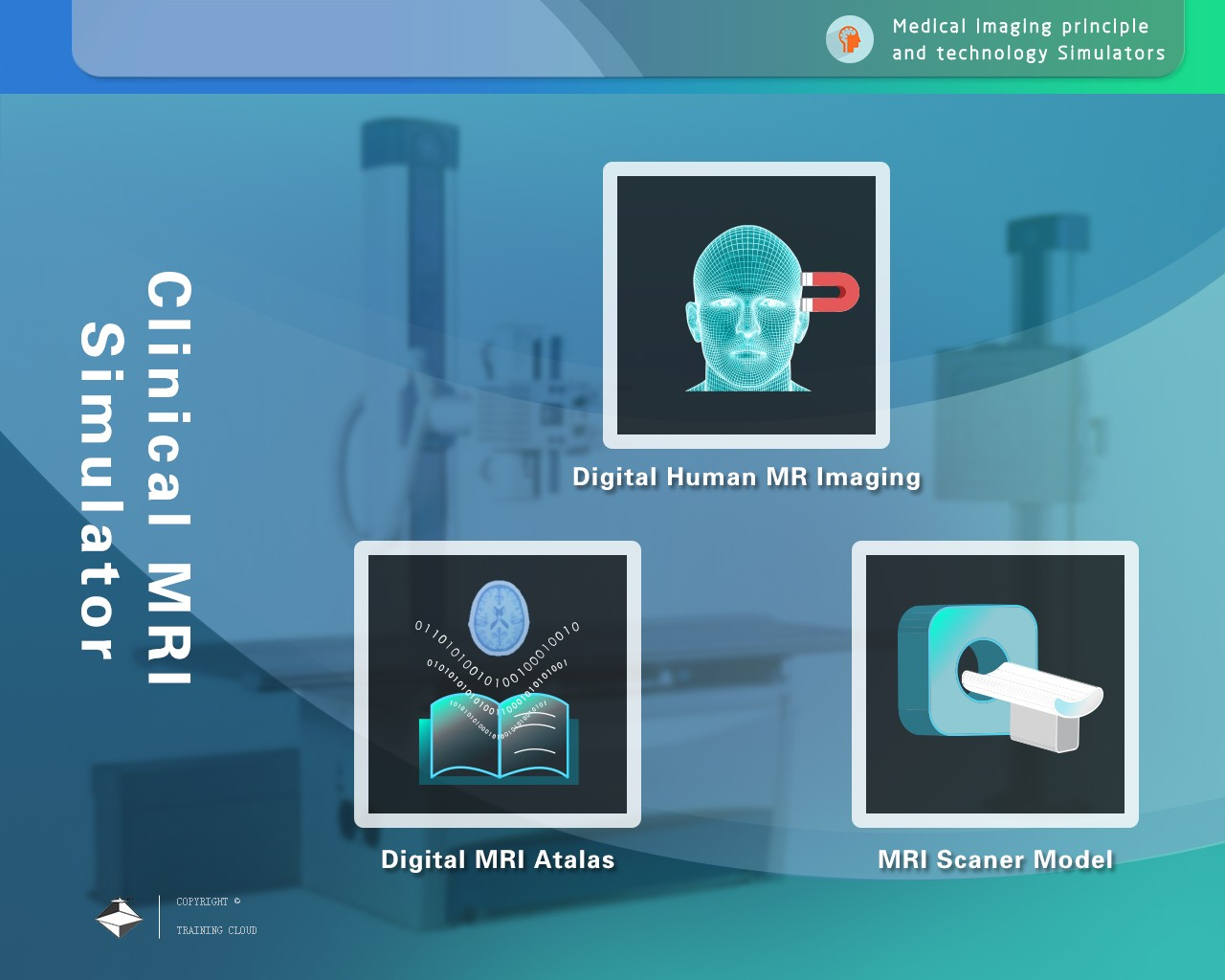 DMRAtlasV1.0临床核磁共振仿真实验仪
