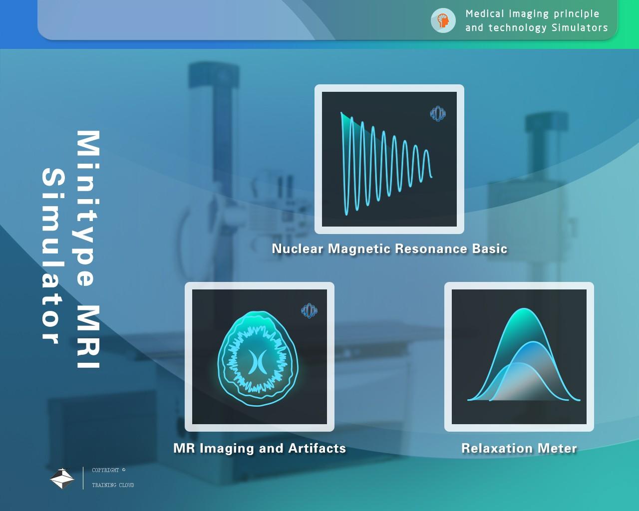 MRISim3.0台式核磁共振技术仿真实验仪