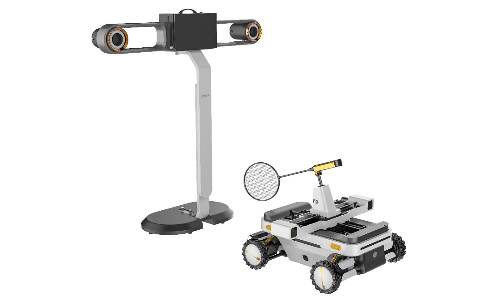 羽毛球机器人教育版