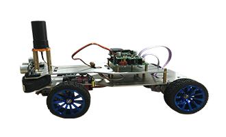 北斗户外教学自动驾驶智能车