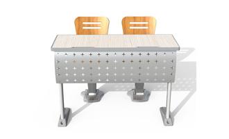 HY-1422阶梯教室课桌椅